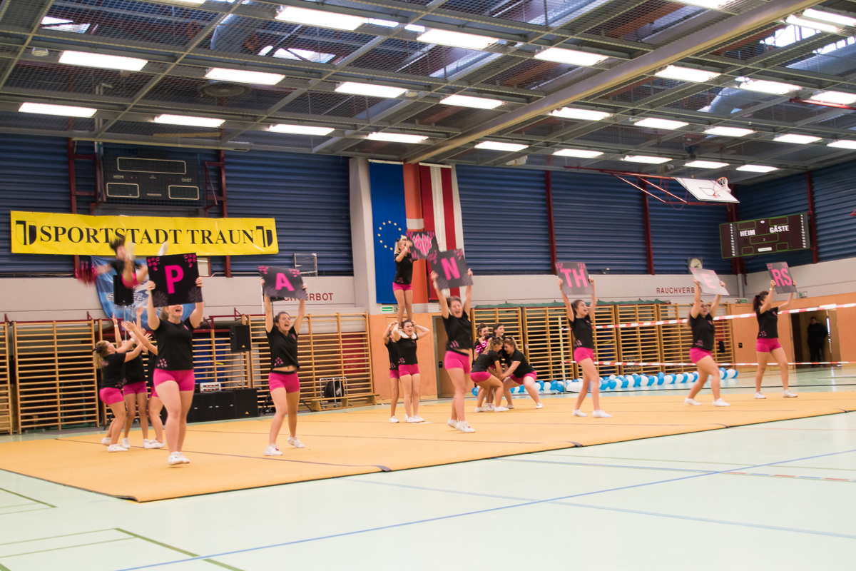 Pink Panthers Cheerleader 13