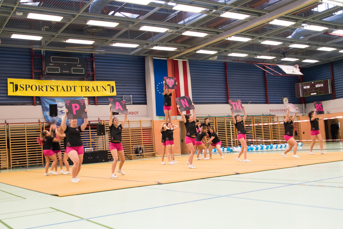Pink Panthers Cheerleader 14