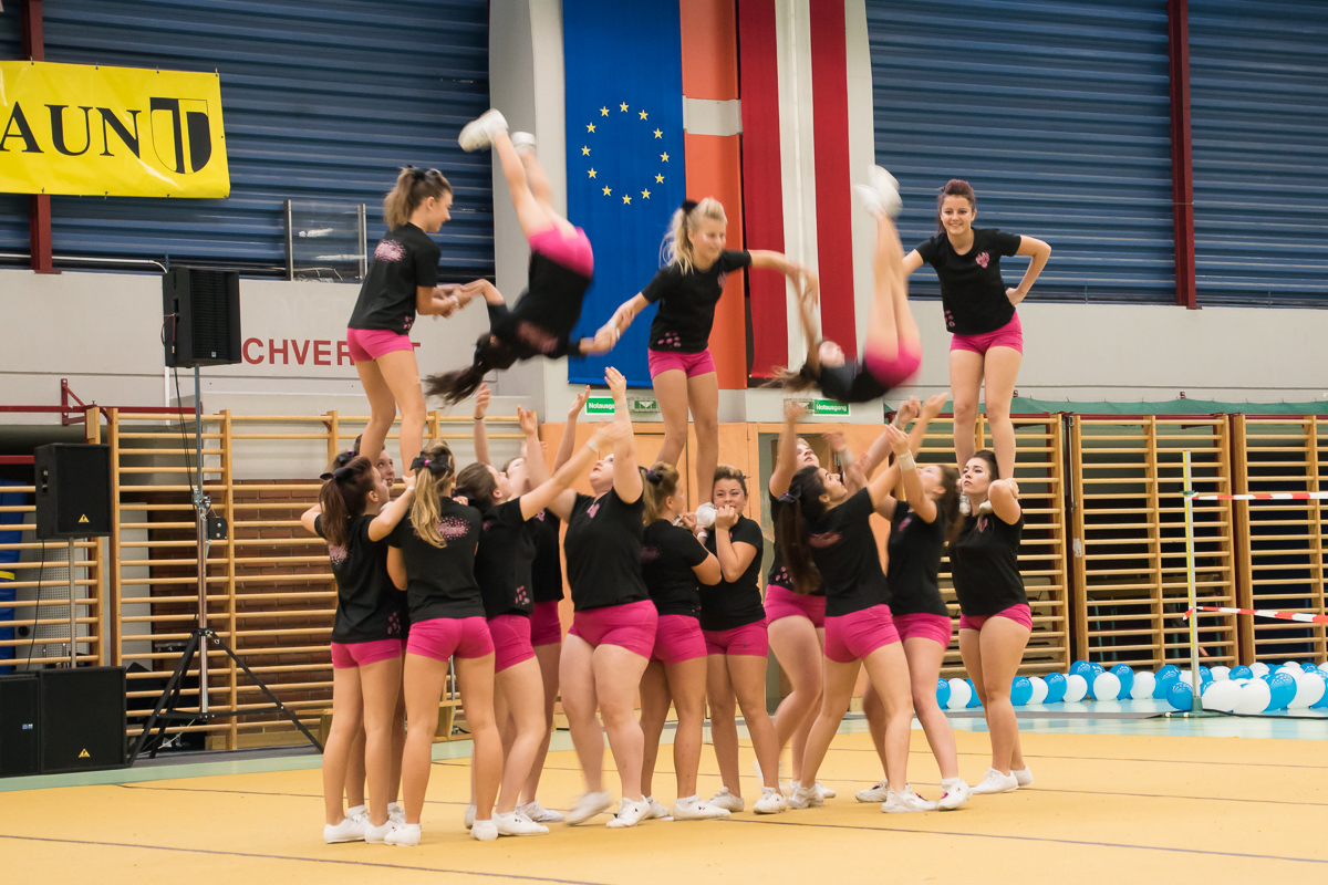 Pink Panthers Cheerleader 23