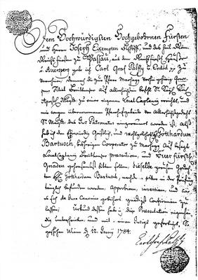 Dokument Breitensee NÖ