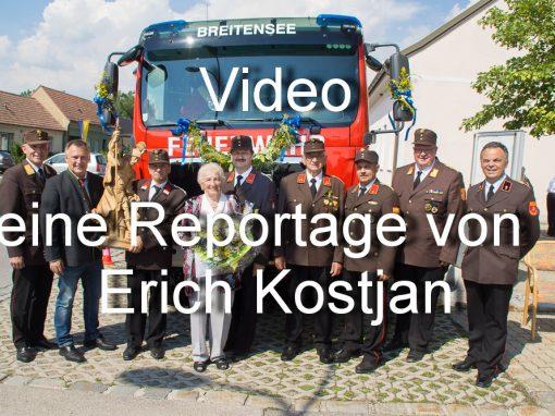 Fahrzeugeinweihung HLF2 Video
