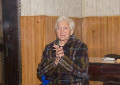Unsere Frau Bichler feiert ihren 90iger