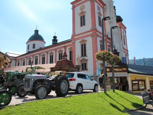 Die Fahrt nach Mariazell