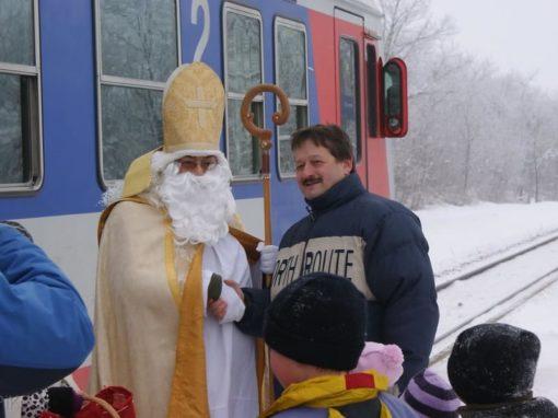 Der Nikolaus kommt nach Breitensee