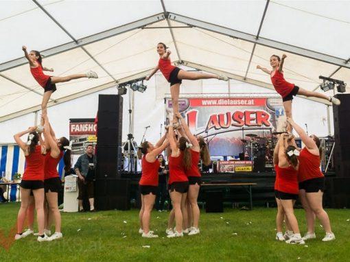 Cheerleader – Zeltfest in Marchegg 2015