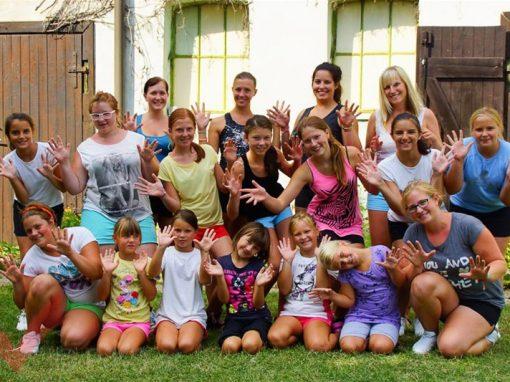 Cheerleader Camp 2013