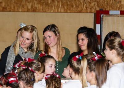 Aufführung der Panthers-Cheerleader 2013
