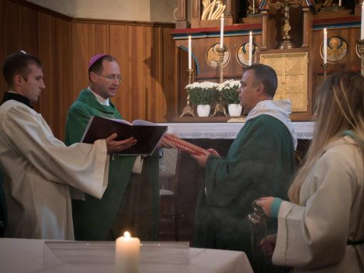 Amtseinführung von Pater Antal