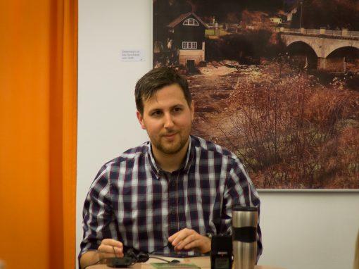 Immerschuld – Lesung von Roman Klementovic