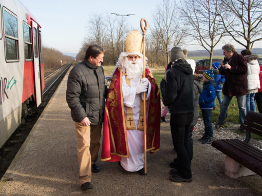 Der Nikolaus in Breitensee