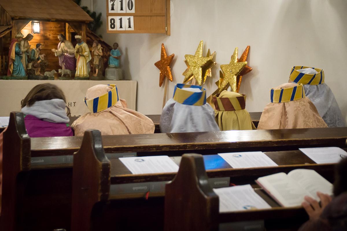 Die Heiligen drei Könige in Breitensee