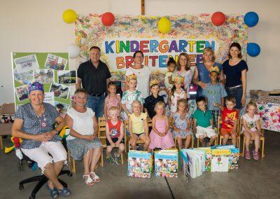Abschlussfest im Kindergarten Breitensee